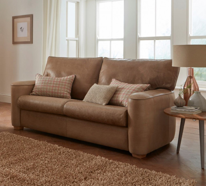 """Ruby"" Chesterfield Sofa original 2-Sitzer in Fabric"