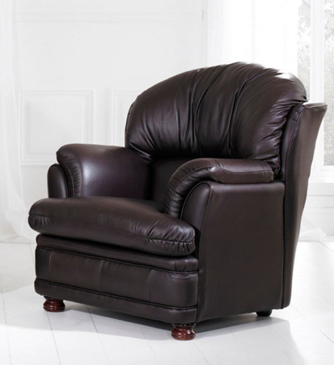 """""""Sophia Chair"""" Chesterfield Sessel in Fabric"""