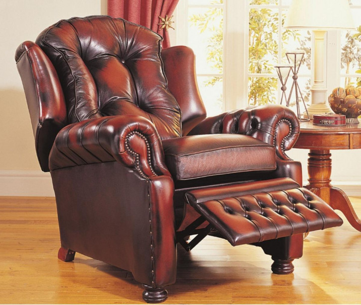"""""""Taylor Recliner"""" Chesterfield Recliner"""