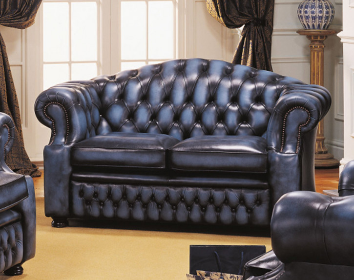 """Brighton"" original Chesterfield 2-Sitzer"