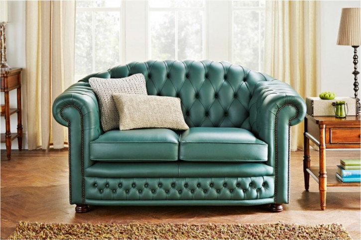 """Cambridge"" original Chesterfield Sofa 2-Sitzer"