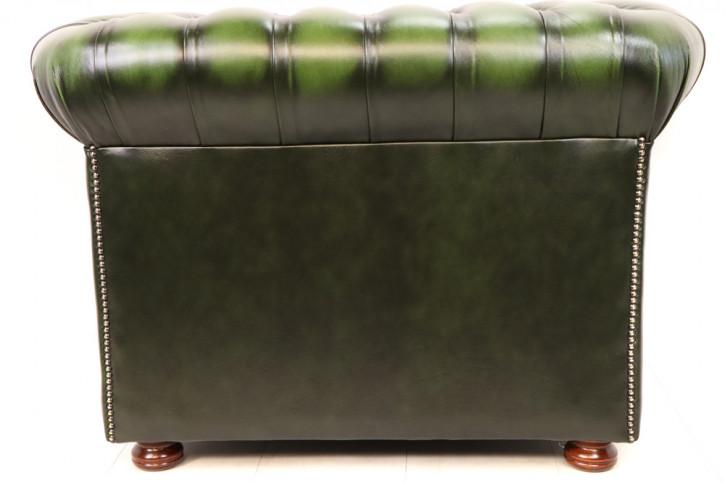 "Sofort lieferbar: Chesterfield Sessel ""Austin"", grün"