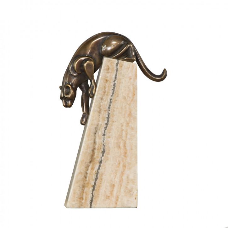 """Panther"" Bronzefigur"