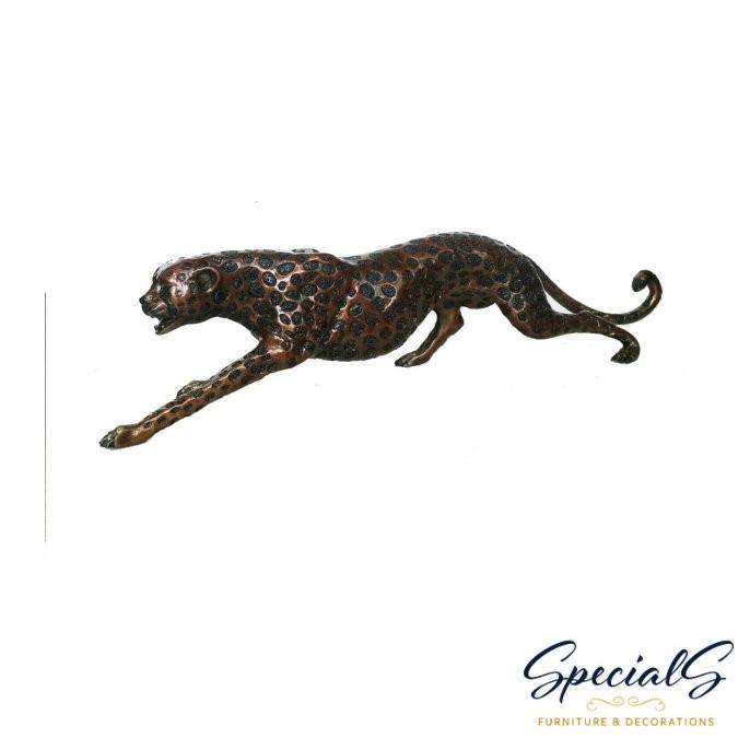 """Gepard"" Bronzefigur"