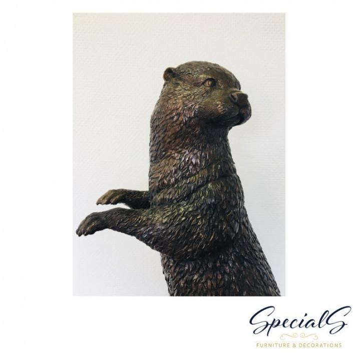 """""""Großer Otter"""" Bronzefigur"""