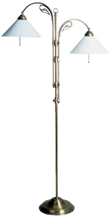 Verstellbare Standleuchte 152-175cm