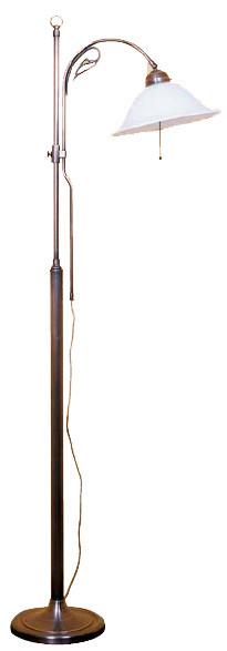 Standleuchte, verstellbar 166-185cm