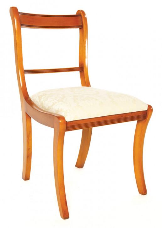"""""""Sabre Leg"""" Esszimmer Stuhl in Eibe - ebenfalls in Mahagoni erhältlich"""