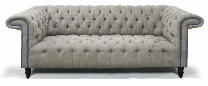"Original Chesterfield Sofa ""Fraserburgh"" Stoff Sofa Zweisitzer"