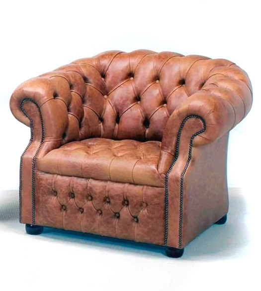 """Edinburgh"" Chesterfield Sessel"