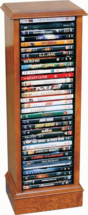 DVD Ständer in Mahagoni