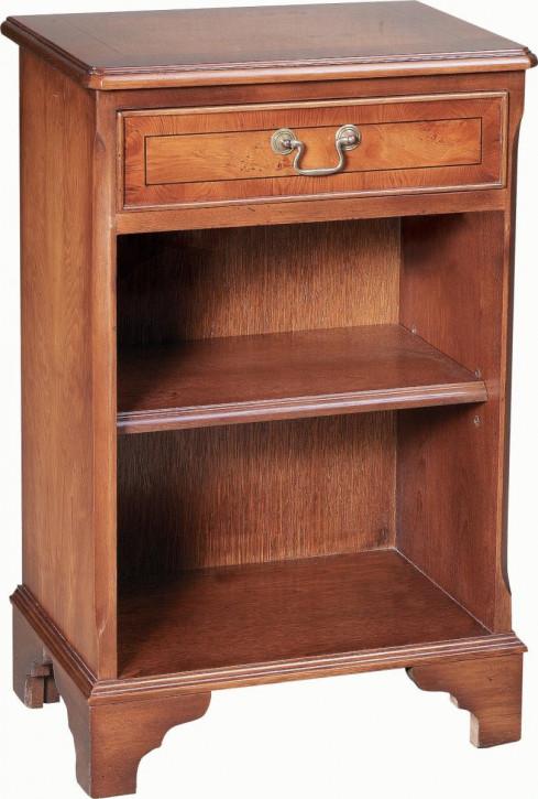 Englisches Bücherregal mit einer Schublade