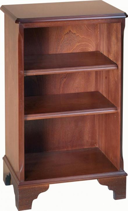 Kleines Bücherregal mit zwei Regalböden
