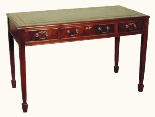 """""""Kleiner graziler Schreibtisch"""" in Mahagoni - ebenfalls in Eibe erhältlich"""
