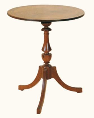 """""""Kleiner runder Tisch"""" in Mahagoni - ebenfalls in Eibe erhältlich"""