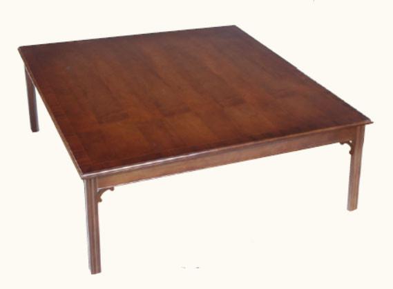 Chippendale Quadratischer Sofa Tisch Mahagoni