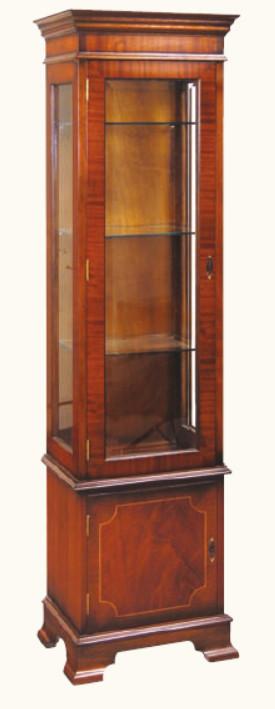 """Display Cabinet Vitrine"" in Mahagoni - ebenfalls in Eibe erhältlich"