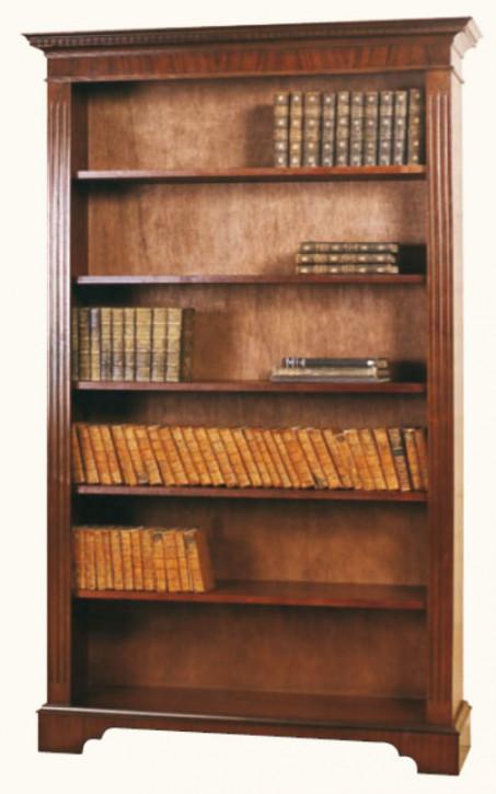 Großes Bücherregal in Mahagoni