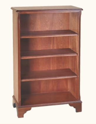 """""""Kleines Bücherregal mit drei Regalböden"""" in Mahagoni - auch in Eibe erhältlich"""