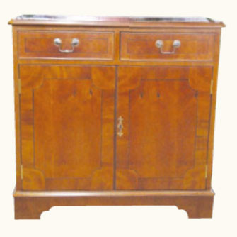 Sideboard Mahagoni mit zwei Schranktüren