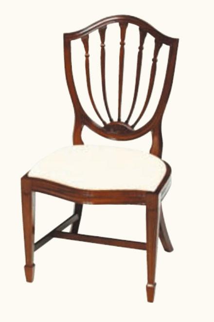 """Candlestick"" Stuhl in Mahagoni - ebenfalls in Eibe erhältlich"