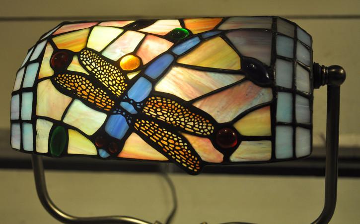 Schreibtischlampe Tiffany 27x20x36 cm E27/max 1x60W