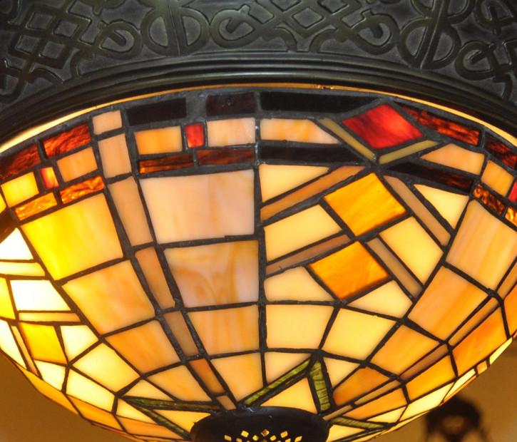 Deckenleuchte Tiffany Ø 38x19 cm E14/max 2x40W