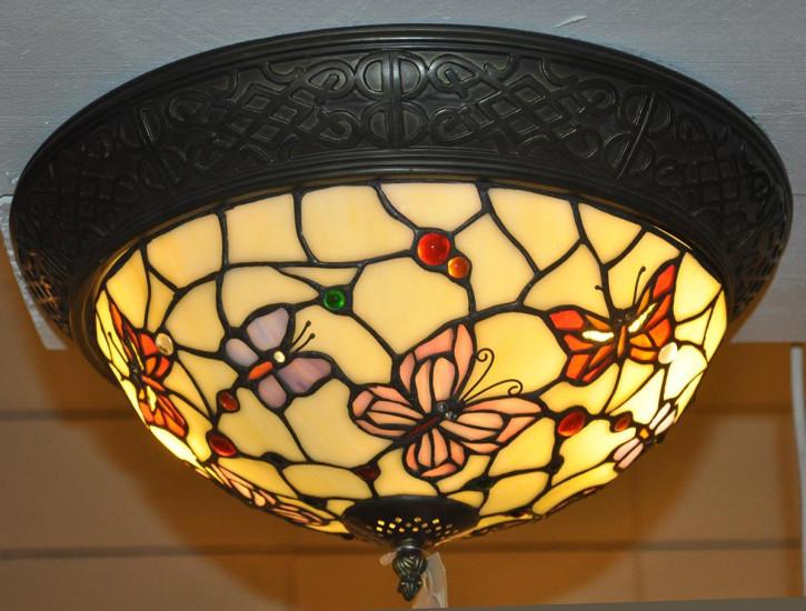 """Tiffany Deckenlampe """"Schmetterlingsnest"""""""