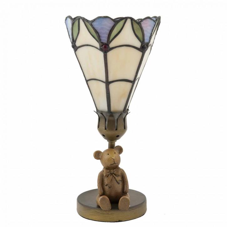 Tischlampe im Tiffany Stil Teddy 12,5x27cm