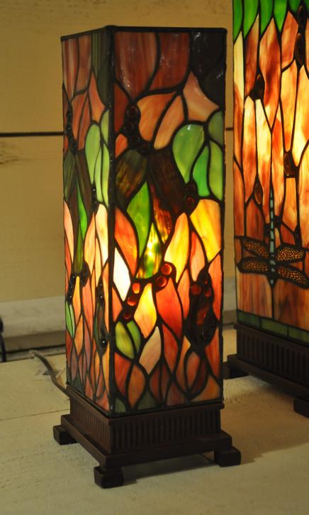 Tischlampe Tiffany 12x12x35 cm E14/max 1x40W