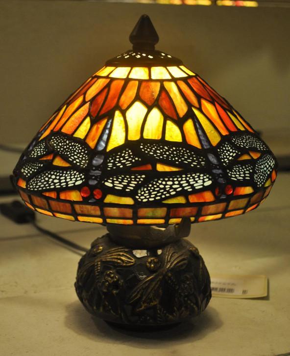 Tischlampe Tiffany Ø 22x21 cm E14/max 1x40W