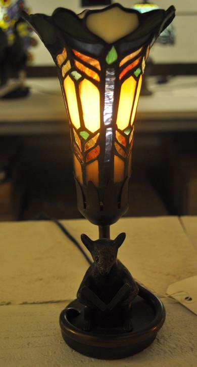 Tischlampe im Tiffany Stil 11x26cm