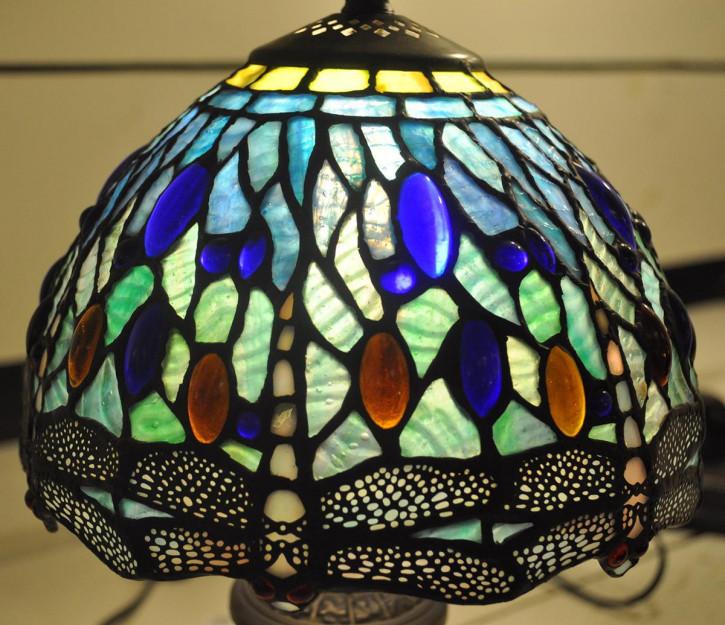 Tischlampe Tiffany Ø 20x35 cm E14/max 1x60W