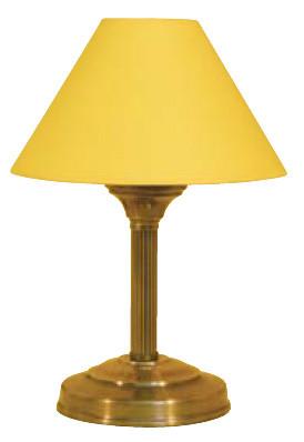 Schöne kleine Tischleuchte, gelb