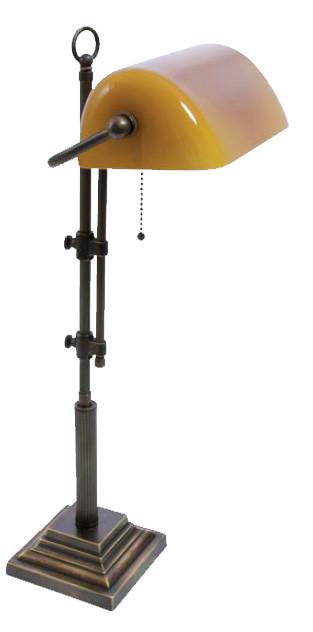 Bankerslampe Gelb 61-72cm