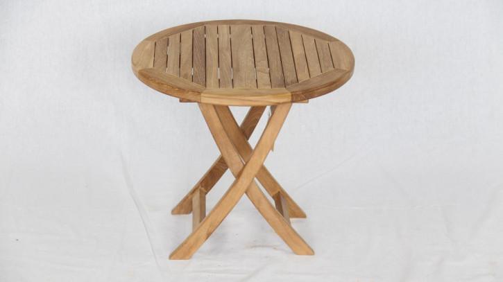 Klapptisch Round Table Side