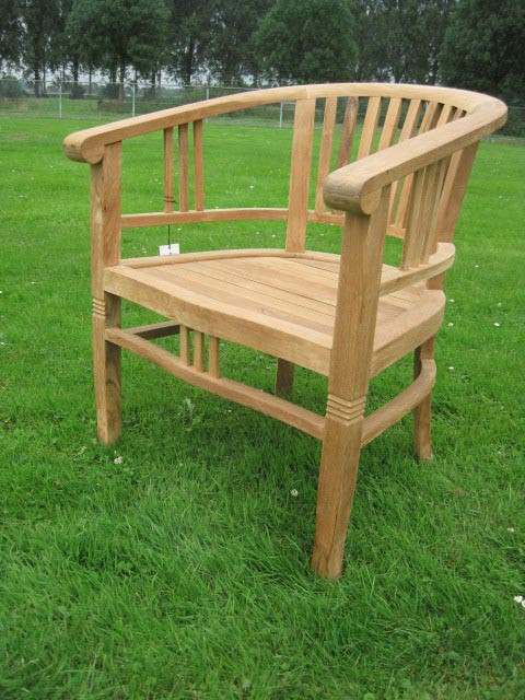 Teak Stuhl - Betawi big chair