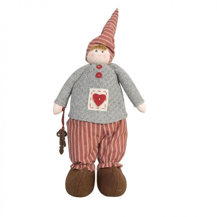 Puppe mit Herzchen 31cm