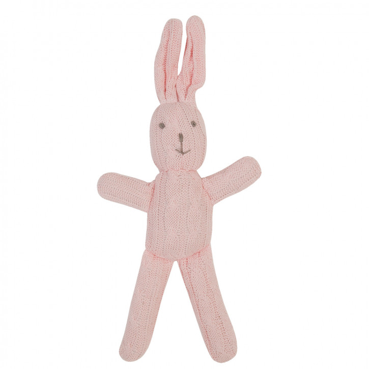 Rosa Stoff-Kaninchen