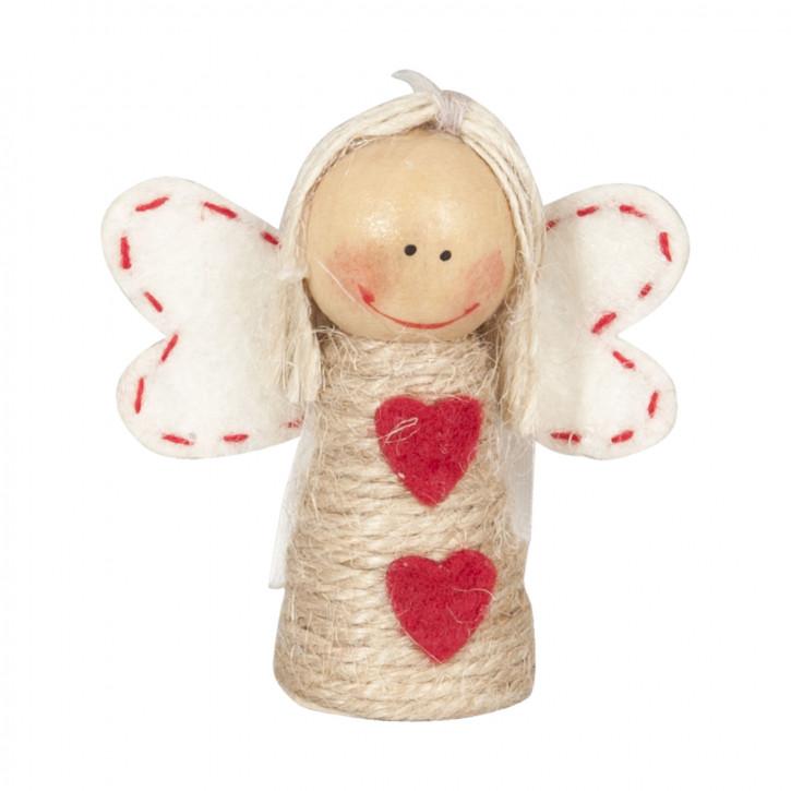 Deko Dekoration Puppe Püppchen Engel ca. 5,5 x 3 x 6 cm