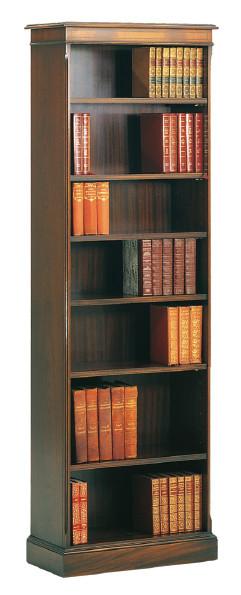 Bücherregal aus Mahagoniholz