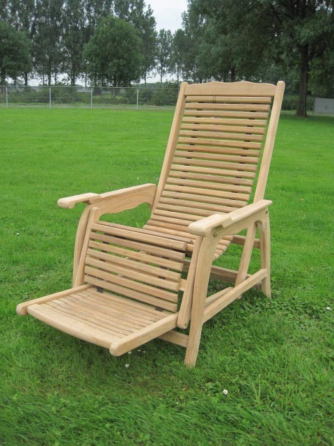 Teak Stuhl - Lounge Chair
