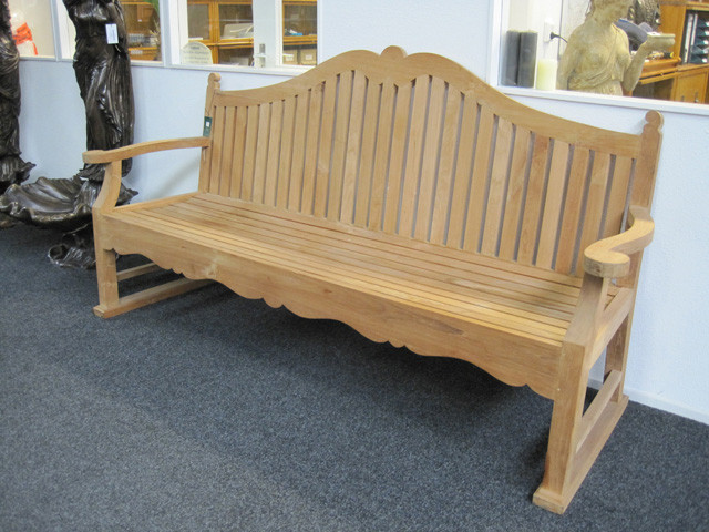 Teak Bank - Bench high back Bedford