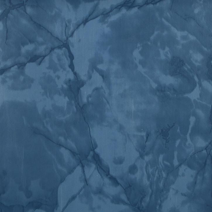 Wachstuch blau marmoriert 140 x 275 cm