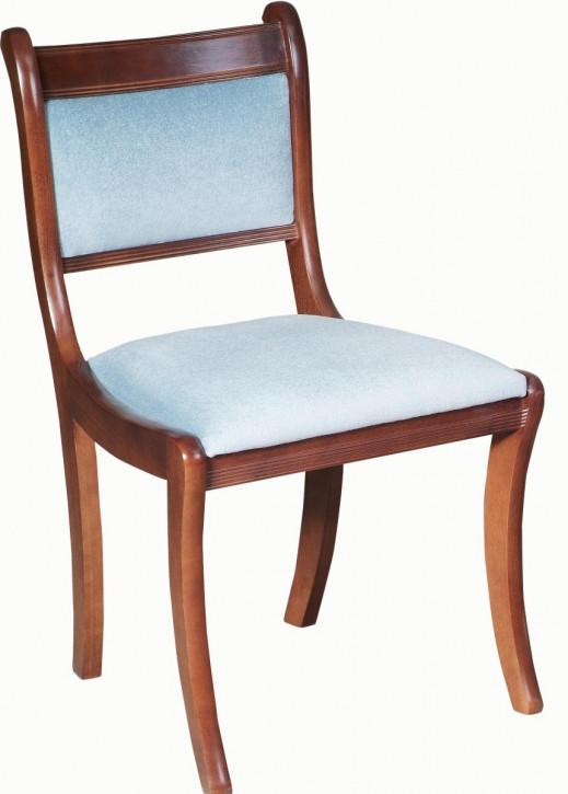 Englischer Stuhl mit gepolsterter Rückenlehne