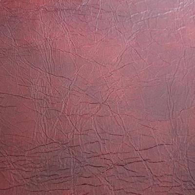 Lederprobe Vintage Ruby