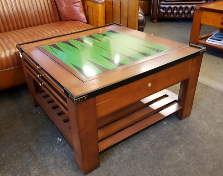 Massivholz Spieltisch, Beistelltisch, Wohnzimmertisch, handgefertigt