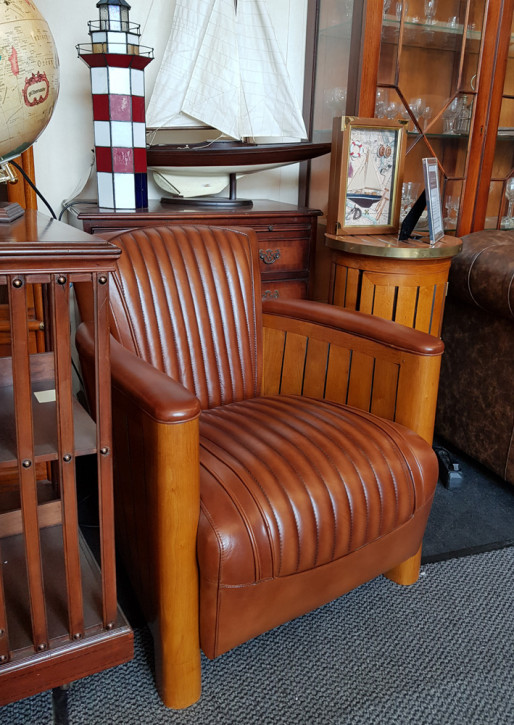 """""""Mariner's Brown"""" Clubsessel Sofort Lieferbar"""