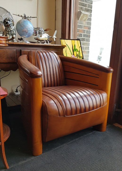 """Art Deco Clubsessel """"Nautic"""" Sofort Lieferbar"""