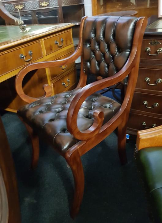 """Canterbury Carver Chair"" Chesterfield Bürostuhl Sofort Lieferbar"